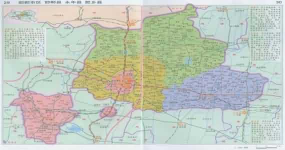 永年地图_河北永年地图