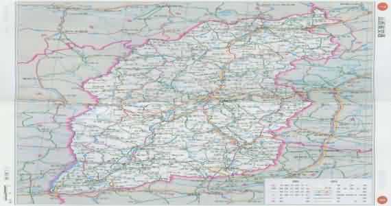 山西地图 山西省山西地图
