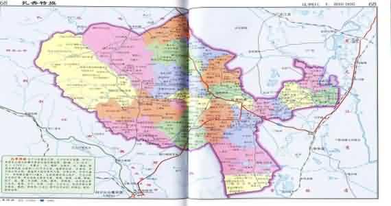 兴安盟科右中旗地图_扎赉特旗地图_内蒙古兴安盟扎赉特旗地图