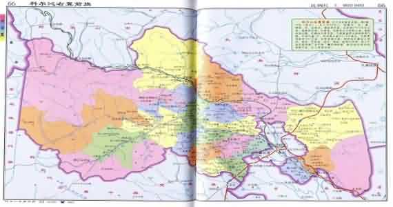 兴安盟科右中旗地图_科尔沁右翼前旗地图_内蒙古兴安盟科尔沁右翼前旗地图