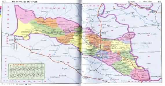 兴安盟科右中旗地图_科尔沁右翼中旗地图_内蒙古兴安盟科尔沁右翼中旗地图