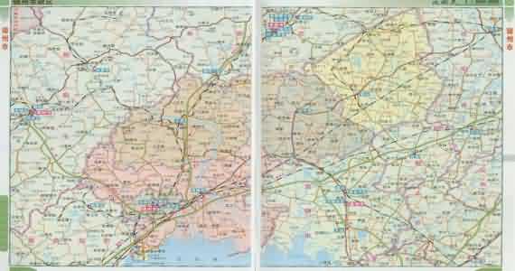 锦州地图_辽宁锦州地图