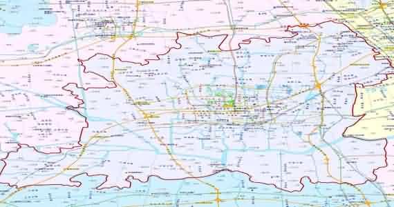 上海松江区地图_上海松江区_上海市松江区地图