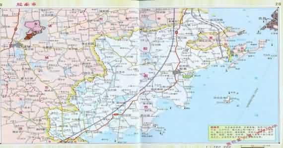 黄岛地图_胶南地图_山东胶南地图