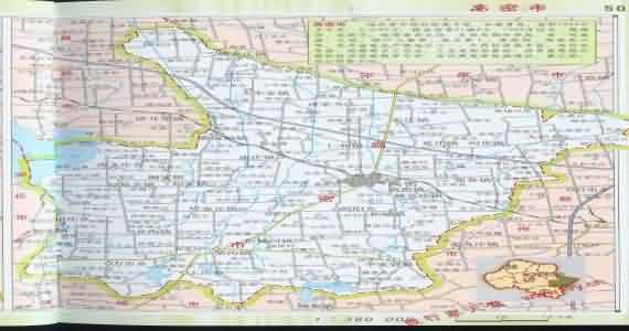 高密地图 山东高密地图 胶州到高密地图 高密和胶州地 图片 19k 570x