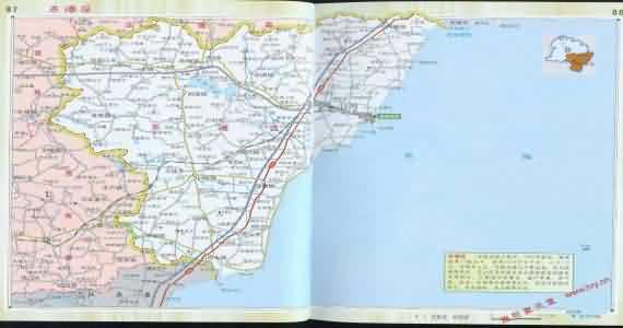 山东日照地图_东港地图_日照东港地图