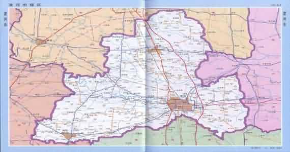 漯河地图_河南漯河地图