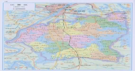 湖北武汉新洲区地图_江夏地图_武汉江夏地图