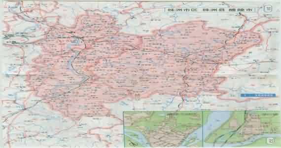 株洲地图_湖南株洲地图