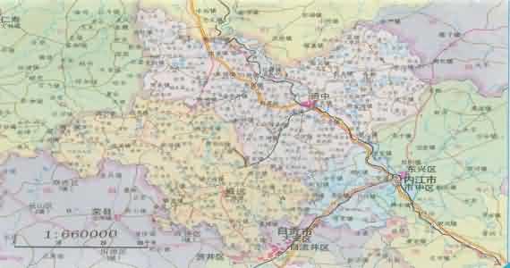 威远县地图_威远县_内江市威远县地图