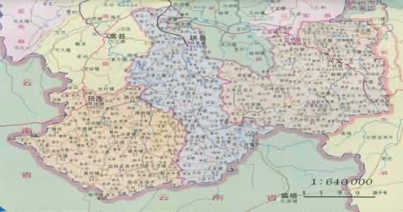 全国地图 四川省 宜宾市 珙县