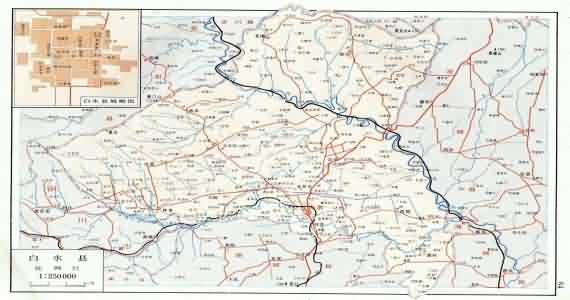 白水地图_陕西白水地图