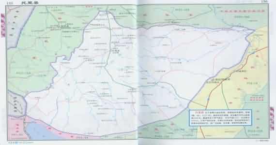 新疆阿勒泰地图_托里地图_新疆自治托里地图